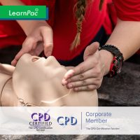 Basic Life Support - Online Training Course - CPD Accredited - LearnPac Systems UK -