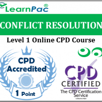 Conflict Resolution Training – Level 1 - Online CPD Training Course – Conflict Resolution (NHS) Training – Skills for Health Aligned E-Learning - LearnPac Systems UK -