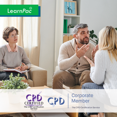 Conflict Resolution in Health and Care - Online Training Course - CPD Accredited - LearnPac Systems UK -
