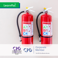 CSTF Fire Safety in Health and Care - Online Training Course - CPD Accredited - LearnPac Systems UK -