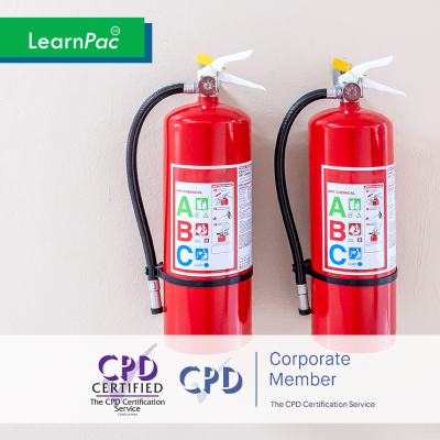 Fire Safety in Health and Care - Online Training Course - CPD Accredited - LearnPac Systems UK -