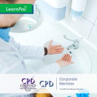 Infection Prevention and Control – Level 2 - Online Training Course - CPDUK Accredited - LearnPac Systems UK -