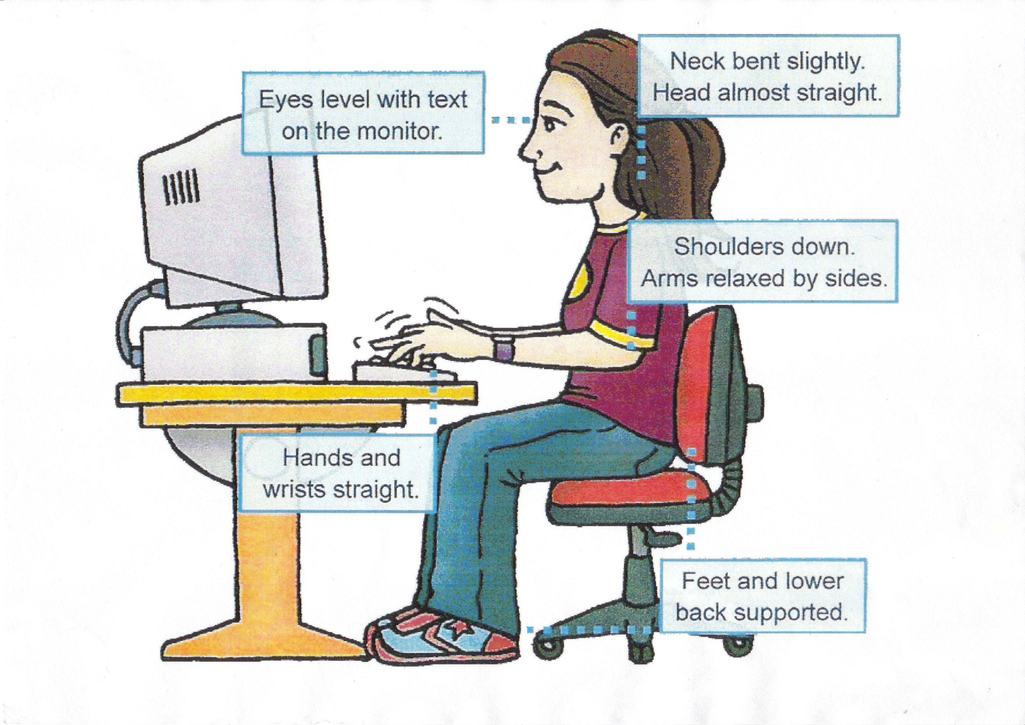 Health And Safety Workstation Ergonomics Learnpac Systems