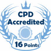 CPD accredited internal logo 16 POINTS - LearnPac Systems UK -