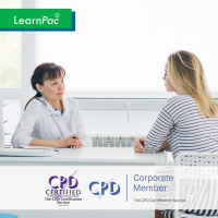 Complaints Handling in Health and Care - Online Training Course - CPD Accredited - LearnPac Systems UK -