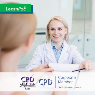 Consent in Health and Social Care - Online Training Course - CPD Accredited - LearnPac Systems UK -