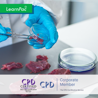 Food Safety in Health and Care - Online Training Course - CPD Accredited - LearnPac Systems UK -