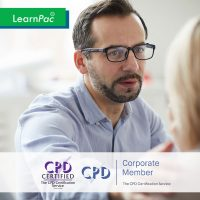 Handling Violence and Aggression - Online Training Course - CPDUK Accredited - LearnPac Systems UK -