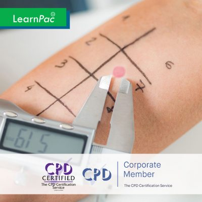 Anaphylaxis Awareness - Online Training Course - CPD Accredited - LearnPac Systems UK -