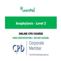 Anaphylaxis - Level 2 - LearnPac Online Training Courses UK -