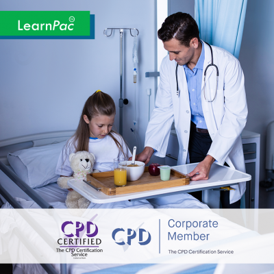 Fluids and Nutrition - Online Training Course - CPD Accredited - LearnPac Systems UK -