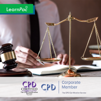 Mental Capacity Act 2005 - Online Training Course - CPD Accredited - LearnPac Systems UK -