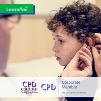 Multi-Sensory Impairment - Online Training Course - CPD Accredited - LearnPac Systems UK -