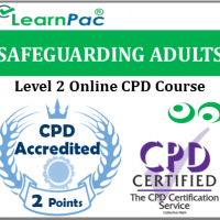 Safeguarding Adults Training - Level 2 - Online CPD Accredited Course - Skills for Care & Skills for Health Aligned E-Learning Course - CQC Compliant - LearnPac Systems UK -