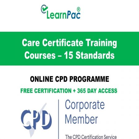 Care Certificate Training Courses – 15 Standards - LearnPac Online Training -