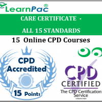 Care Certificate Training Courses - 15 Care Certificate Standards - Online Care Certificate Training Courses - Skills for Care Aligned E-Learning Courses - LearnPac Systems UK -