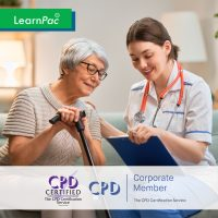 Care Certificate Training Courses - 15 Standards - Online Training Course - CPD Accredited - LearnPac Systems UK -