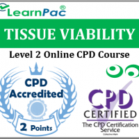 Tissue Viability Course - Level 2 - Online CPD Accredited Training Course for Nurses, Healthcare & Social Care Support Workers - Skills for Care Aligned - LearnPac Systems UK -