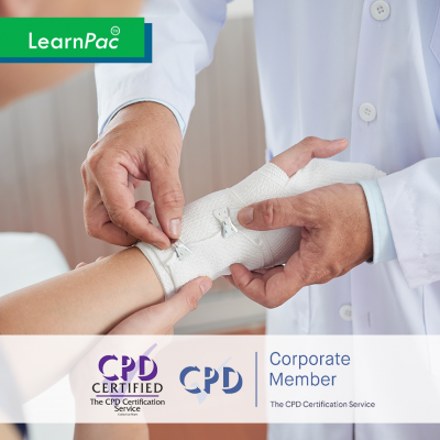Tissue Viability - Online Training Course - CPD Accredited - LearnPac Systems UK -