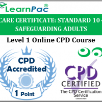 Care Certificate Standard 10 – Safeguarding Adults - Online Accredited Training Course for Health & Social Care Support Workers – Skills for Care Aligned - LearnPac Systems UK -