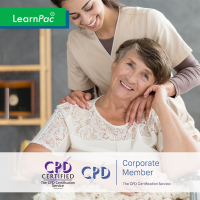 Care Certificate Standard 5 – Person-Centred Way - Online Training Course - CPD Accredited - LearnPac Systems UK -