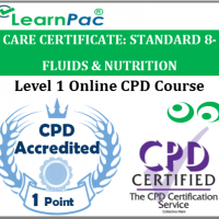Care Certificate Standard 8 - Fluids & Nutrition - Online Accredited Training Course for Health & Social Care Support Workers – Skills for Care Aligned E-Learning Course - LearnPac Systems UK -