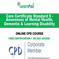 Care Certificate Standard 9 - LearnPac Online Training Courses UK -