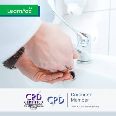 Infection Control in Health and Care - Online Training Course - CPD Accredited - LearnPac Systems UK -