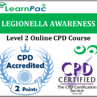 Legionella & Legionnaires Awareness Training - Level 2 Online CPD Accredited Course - Accredited Legionella Awareness & Legionnaire's Prevention Training - LearnPac Systems UK -