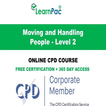 Moving and Handling People - Level 2 - LearnPac Online Training Courses UK -