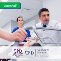 Moving and Handling People - Online Training Course - CPDUK Accredited - LearnPac Systems UK -