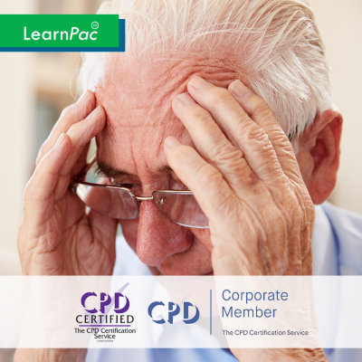 Understanding Dementia - Online Training Course - CPD Accredited - LearnPac Systems UK -