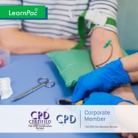 Blood Transfusion Training - Online Training Course - CPD Accredited - LearnPac Systems UK -