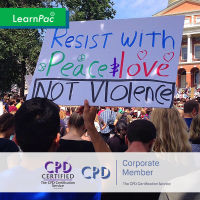 Preventing Radicalisation - Online Training Course - CPD Accredited - LearnPac Systems UK -