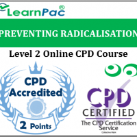 Preventing Radicalisation Training - Level 2 - Online CPD Training Course - Prevent Duty Course - Skills for Health UK CSTF Aligned E-Learning - LearnPac Systems UK -