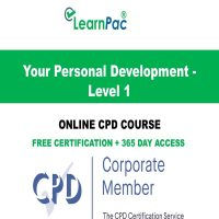 Your Personal Development - Level 1 - Online CPD Course - LearnPac Online Training Courses UK –