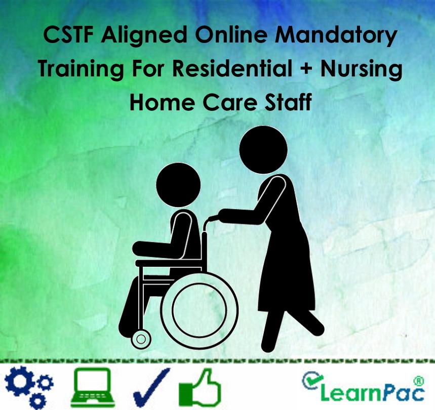 Nursing Home Design Standards Uk: Cstf-aligned-online-mandatory-training-for-residential