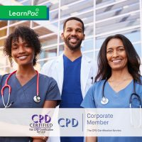 Mandatory Training for Allied Health Professionals - Online Training Course - CPD Accredited - LearnPac Systems UK -
