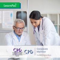 Mandatory Training for Agency and Locum Staff - Online Training Course - CPD Accredited - LearnPac Systems UK -