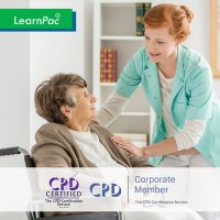 Mandatory Training for Care Home Staff - Online Training Course - CPD Accredited - LearnPac Systems UK -
