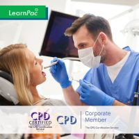Mandatory Training for Dentists & Orthodontists - Online Training Course - CPD Accredited - LearnPac Systems UK -
