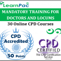 Mandatory Training for Doctors & Locum Staff – 30 CPD Accredited Courses – Online Skills for Health CSTF Aligned E-Learning Courses - LearnPac Systems UK -