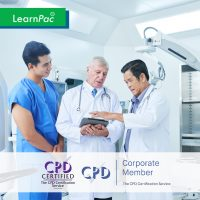 Mandatory Training for General Practitioners - Online Training Course - CPD Accredited - LearnPac Systems UK -