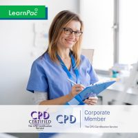 Mandatory Training for Healthcare Assistants - Online Training Course - CPD Accredited - LearnPac Systems UK -