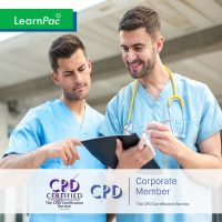 Mandatory Training for Nurses - Online Training Course - CPD Accredited - LearnPac Systems UK -