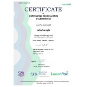 Food Safety Training – Level 2 - Online Training Course - CPD Certified - LearnPac Systems UK -