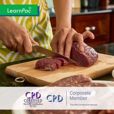Food Safety Training – Level 2 - Online Training Course - CPDUK Accredited - LearnPac Systems UK -