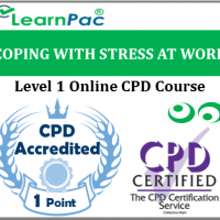 Coping with Stress at Work - Level 1 - Online CPD Accredited Training Course - Stress in the Workplace - Health & Safety Executive compliant - LearnPac Systems UK -