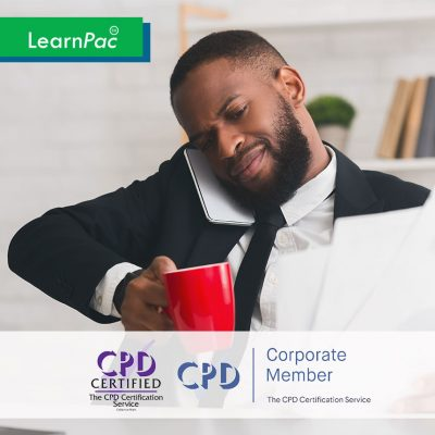 Coping with Stress at Work - Online Training Course - CPDUK Accredited - LearnPac Systems UK -