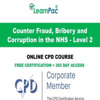 Counter Fraud, Bribery & Corruption in the NHS - Level 2 - LearnPac Online Course -